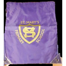 St Mary's PE Bag with School Logo