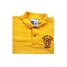 Sacred Heart Yellow PE Top with Logo