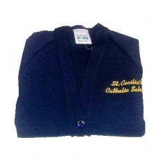 St Cecilia's Navy Cardigans