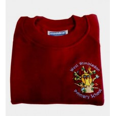 West Wimbledon Burgundy Jumper