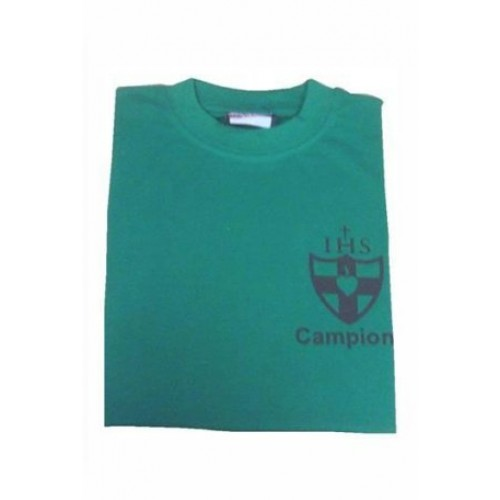 90099aed6ab Wimbledon College Campion House Green PE T Shirt