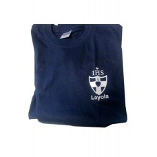 Wimbledon College Loyola House Navy PE T Shirt