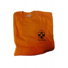 Wimbledon College Hurtado House Orange PE T Shirt