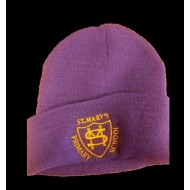 St Mary's Wimbledon Winter Caps With Logo