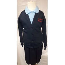 St John Fisher Cardigan with Logo
