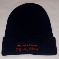 St John Fisher Woollie Hat With Logo