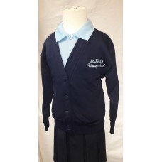 St Teresa's Cardigans with Navy Logo