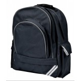 Sturdy XL Large Black Backpack