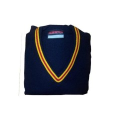 Sacred Heart Jumpers with Gold/Red Stripes