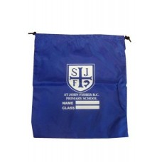 St John Fisher PE Bag with School Logo