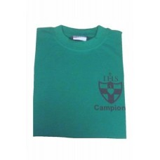 Wimbledon College Campion House Green PE T Shirt